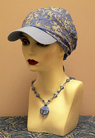 Women's baseball caps, cancer chemotherapy hair loss, South Shore MA, women's headwear, Boston MA, Cape Cod, turbans, head wraps, head scarves, caps, alopecia