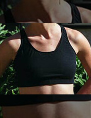 Post breast surgery sports bras, breast form sports bra fitting, surgical bras for active lifestyles, South Shore MA, Boston MA, fitted sports bras for breast forms, mastectomy, breast cancer recovery products